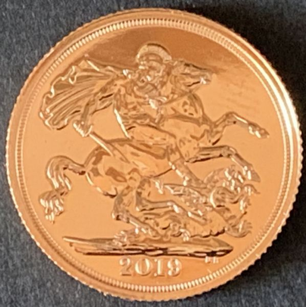 2019 Gold Sovereign